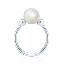 Birks Rock & Pearl Ring - Ring Size M