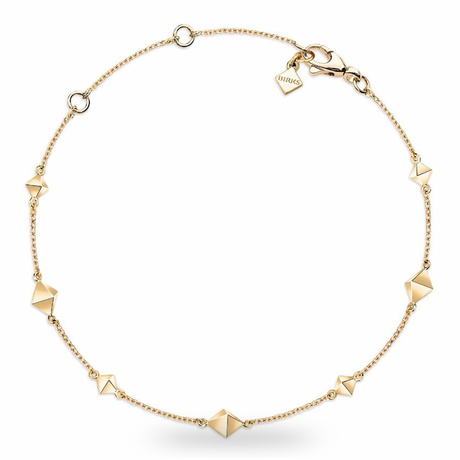Birks Rock & Pearl Yellow Gold Bracelet