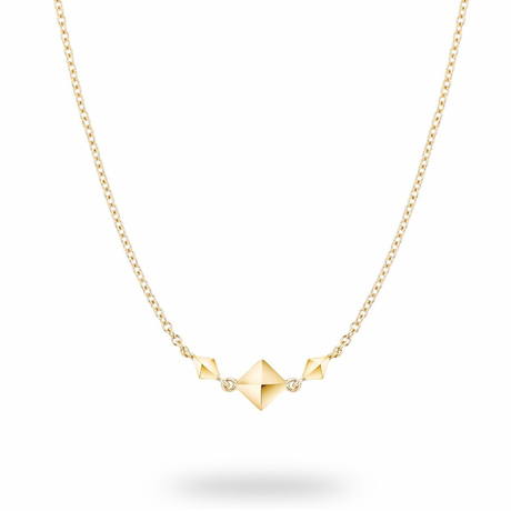 Birks Rock & Pearl Yellow Gold Necklace