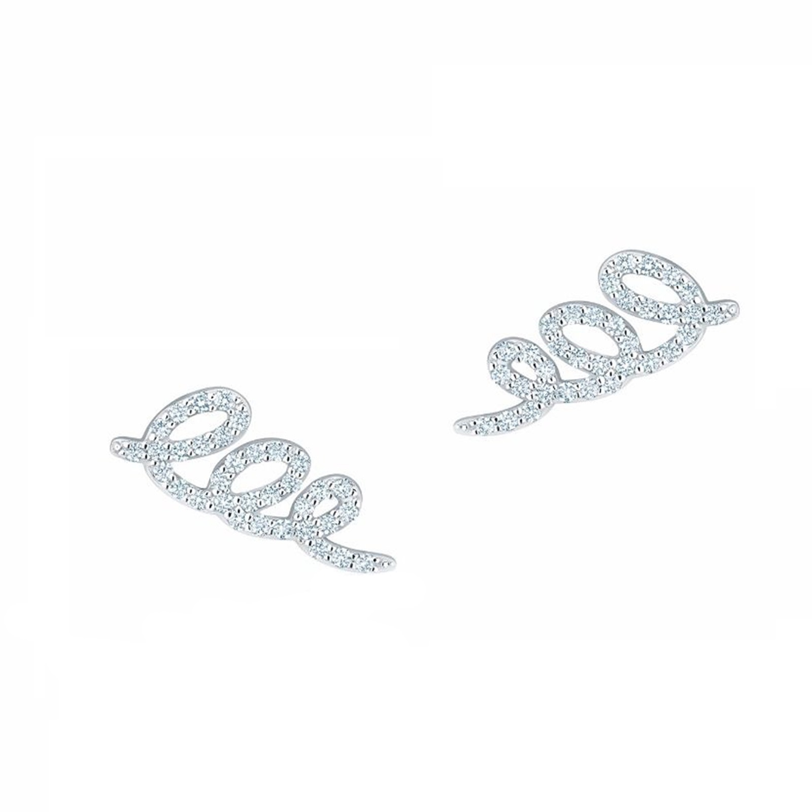 Plaisirs de Birks Diamond Swirl Earrings