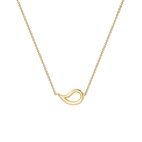 Birks Pétale Yellow Gold Necklace