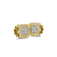 Roberto Coin Pois Moi 18ct Yellow And White Gold 0 248ct Diamond Stud Earrings