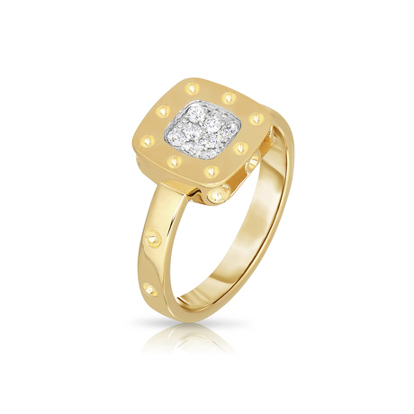 Roberto Coin Pois Moi 18ct Gold 0.12ct Ring