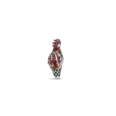 Roberto Coin Animalier Rooster Diamond Ring