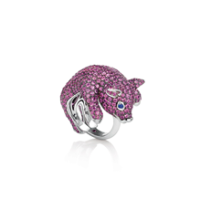 Roberto Coin Animalier Pig Diamond Ring