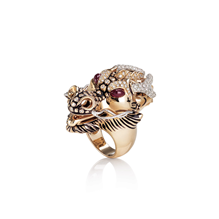Roberto Coin Animalier Dragon Diamond Ring