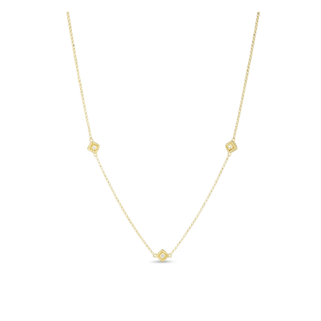 Roberto Coin Palazzo Ducale 18ct Yellow Gold Diamond Necklace