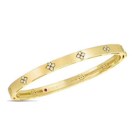 Roberto Coin Love in Verona Diamond Bangle