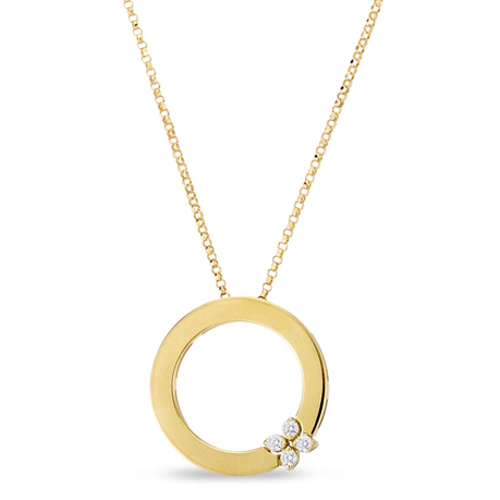 Roberto Coin Love in Verona Diamond Pendant