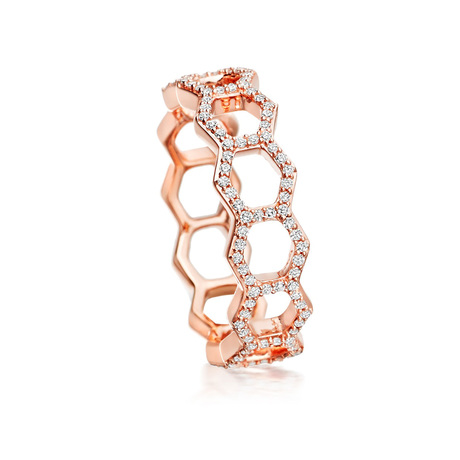 For Her - Astley Clarke Honeycomb Ring - M37590698