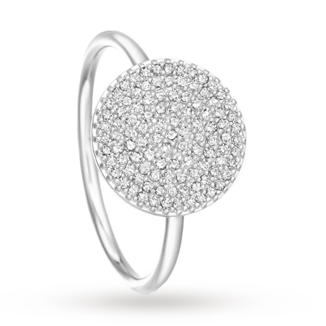 Astley Clarke Icon Ring White