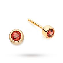 Astley Clarke Mini Garnet Stilla Stud Earrings