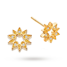 Astley Clarke Mini Sun Biography Stud Earrings