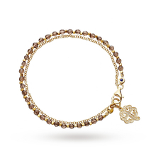 Astley Clarke Smoky Quartz Four Leaf Clover Biography Bracelet