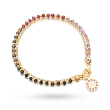 Astley Clarke Purple Haze Dégradé Biography Bracelet