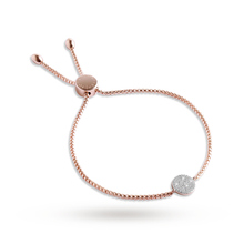 Forever Joma The Core Rose Gold Disc Bracelets