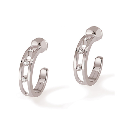 For Her - Messika Move Classique Diamond Half Hoop Earrings - 4407