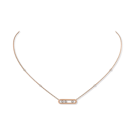 For Her - Messkia Move Classique Diamond Necklace - 4323