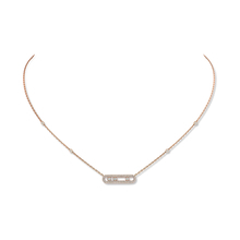 Messika Move Classique Diamond Pave Necklace