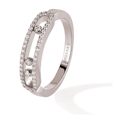 Messika Move Classique Pave Set Diamond Ring in 18ct White Gold