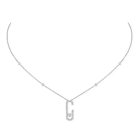 Messika Move Addiction Diamond Pave Necklace