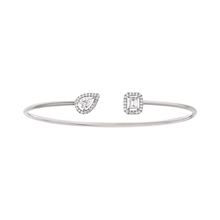 Messika My Twin Toi & Moi Thin Bangle 0,15ct x2