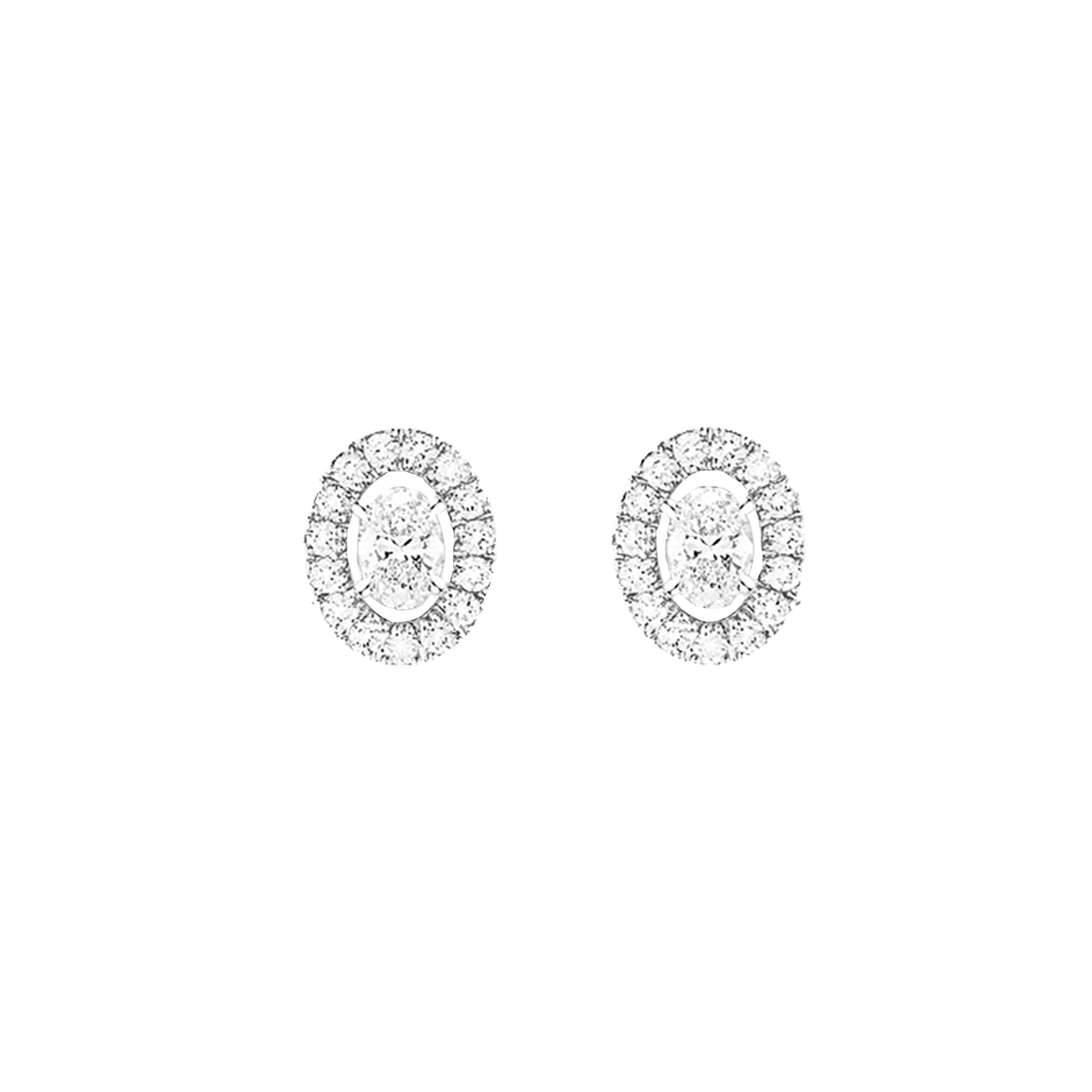 Messika Glam'Azone Stud Earrings