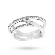 SWAROVSKI Spiral Mini Ring - Size Extra Large