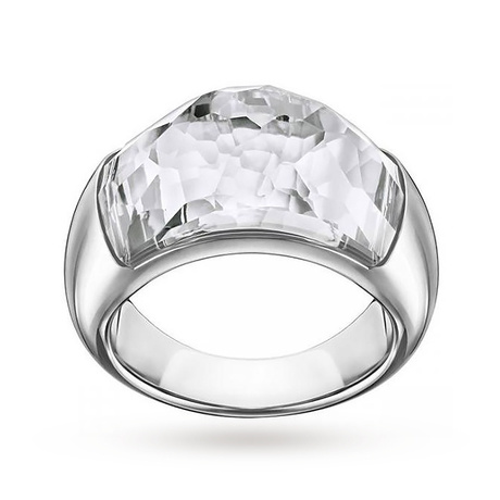 For Her - SWAROVSKI Dome Ring - Size Extra Large - 5184252