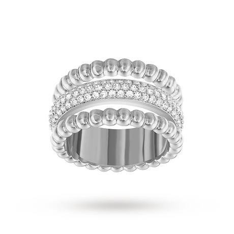 For Her - SWAROVSKI Click Ring - Size Small - 5184551