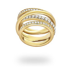 SWAROVSKI Dynamic Gold Ring - Ring size 52