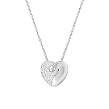 SWAROVSKI Guardian Necklace, Small, White