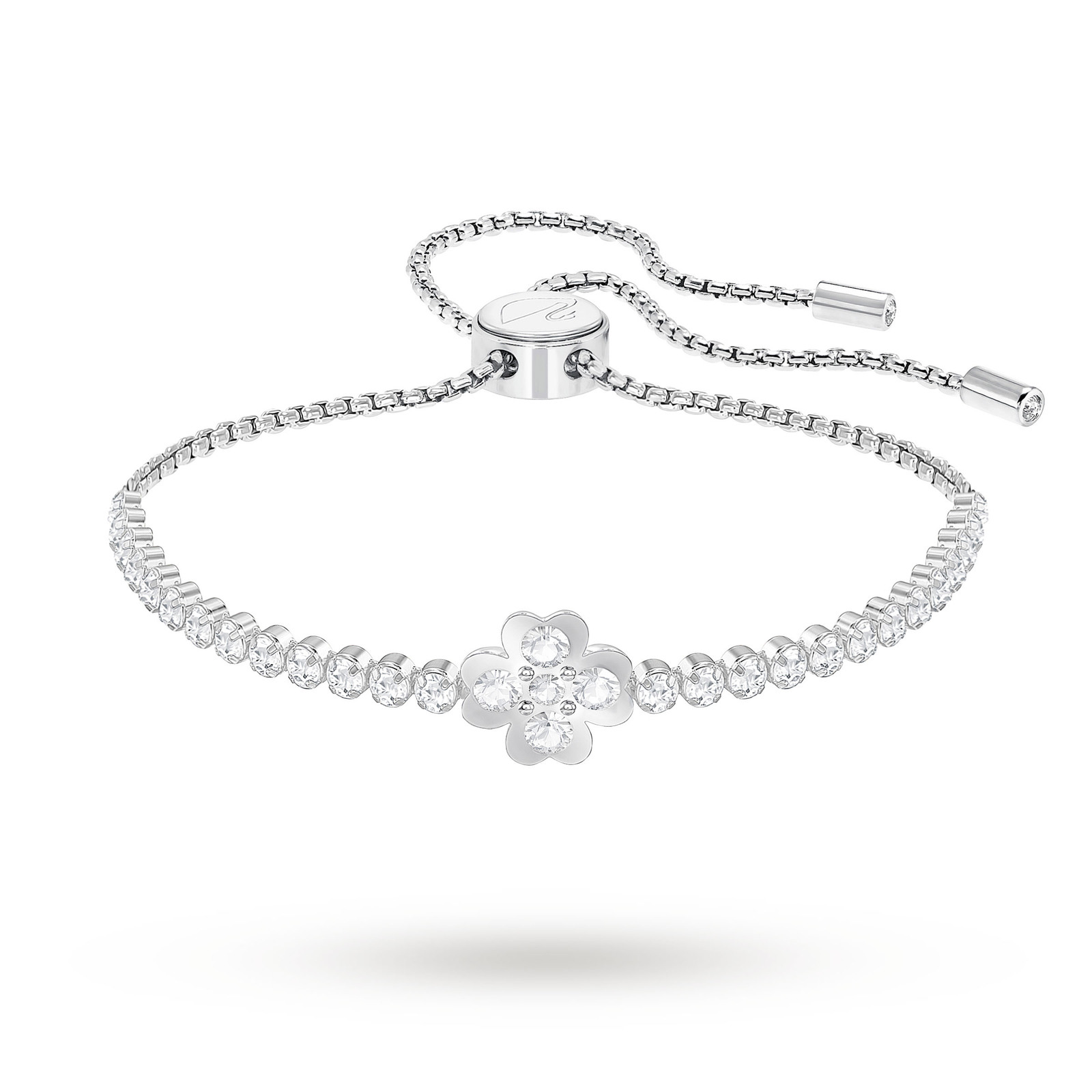 plated diamond princess jian silver bracelet rhodium tennis cz