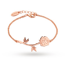 Disney Couture Beauty & the Beast Enchanted Rose Bracelet