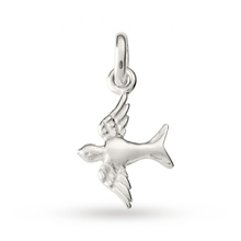 Kirstin Ash Swallow Charm Sterling-silver