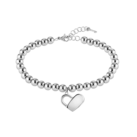BOSS Beads Stainless Steel Bracelet