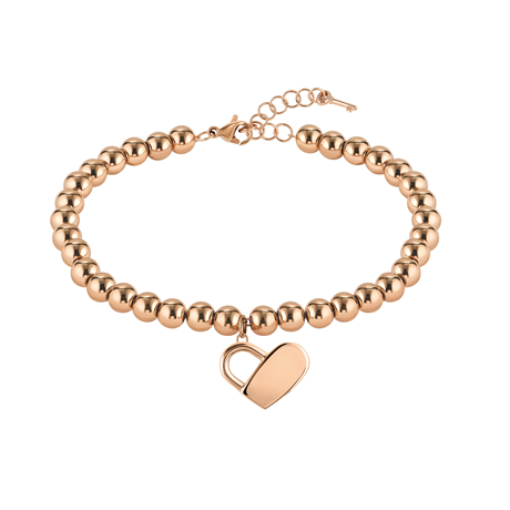 BOSS Beads Rose Gold Coloured Bracelet