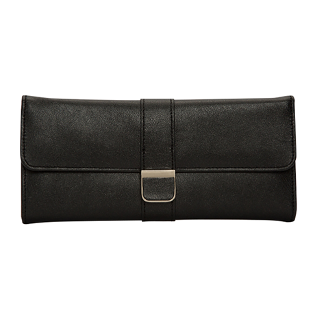 Palermo Jewellery Roll - Black
