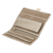 Palermo Jewellery Roll - Pewter