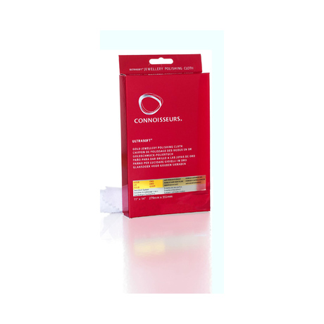 Connoisseurs Ultra Soft Gold Jewellery Polishing Cloth