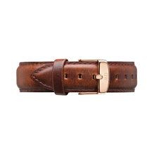 Daniel Wellington Brown Leather Replacement Strap 0306DW