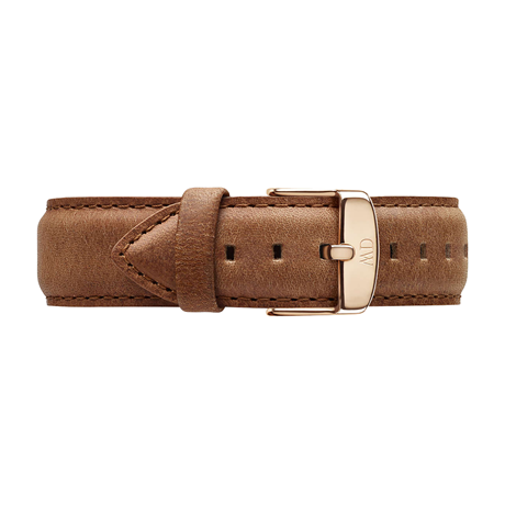 Daniel Wellington Brown Leather Replacement Strap DW00200127