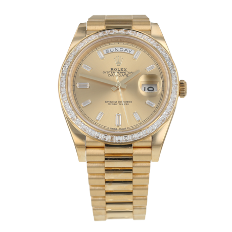 Pre-Owned Rolex Day-Date Mens Watch 228398TBR