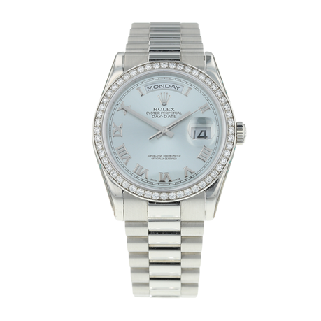 Pre-Owned Rolex Day-Date Mens Watch 118346