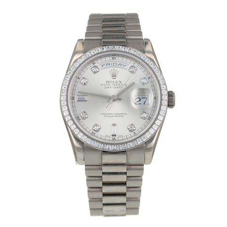 Pre-Owned Rolex Day-Date Mens Watch 118399BR