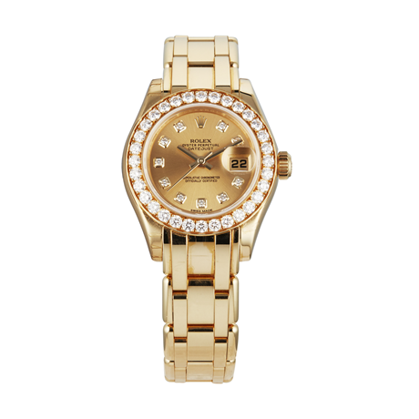 Pre-Owned Rolex Pearlmaster Ladies Watch 80298