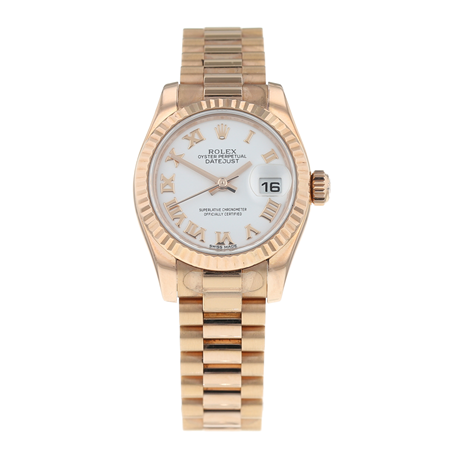 Pre-Owned Rolex Datejust Ladies Watch 179175