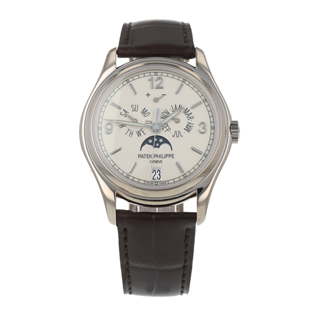 Pre-Owned Patek Philippe Annual Calendar Mens Watch 5146G-001