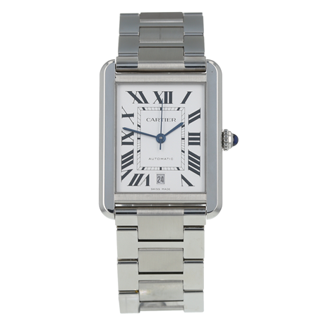 Pre-Owned Cartier Tank Solo XL Mens Watch W5200028/ 3800