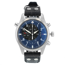 Pre-Owned IWC Pilot's Double Chronograph Men's Watch